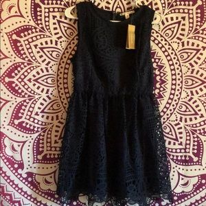Size Medium Navy Blue Dress from Francesca's